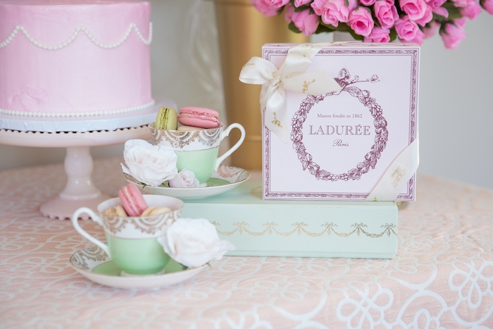 Sweet Details from a Ladurée Inspired Tea Party on Kara's Party Ideas | KarasPartyIdeas.com (25)