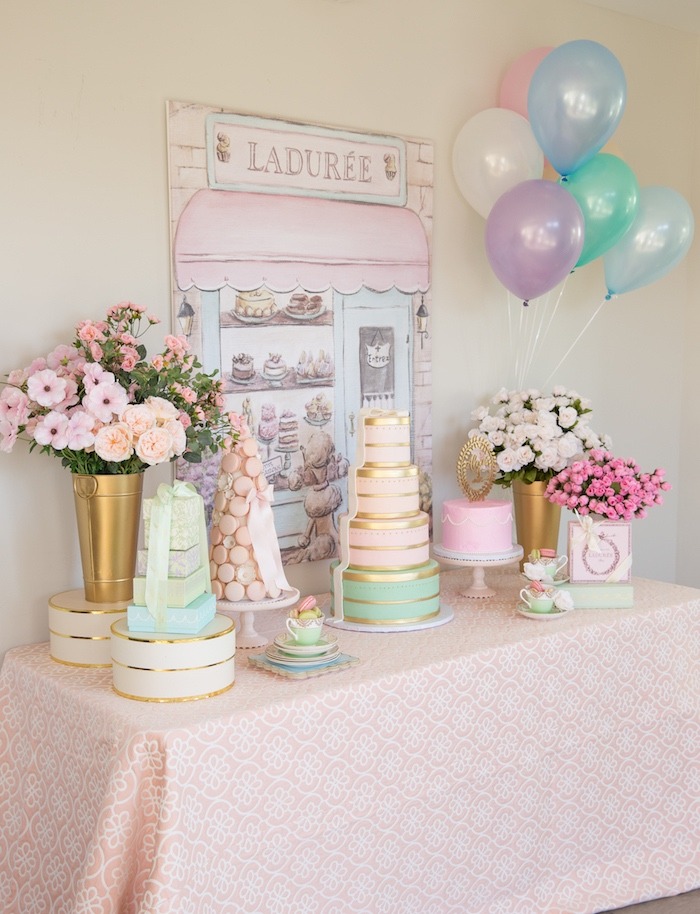 Ladurée Inspired Tea Party on Kara's Party Ideas | KarasPartyIdeas.com (5)