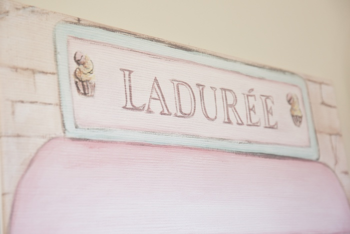 Ladurée Signage + Backdrop from a Ladurée Inspired Tea Party on Kara's Party Ideas | KarasPartyIdeas.com (21)
