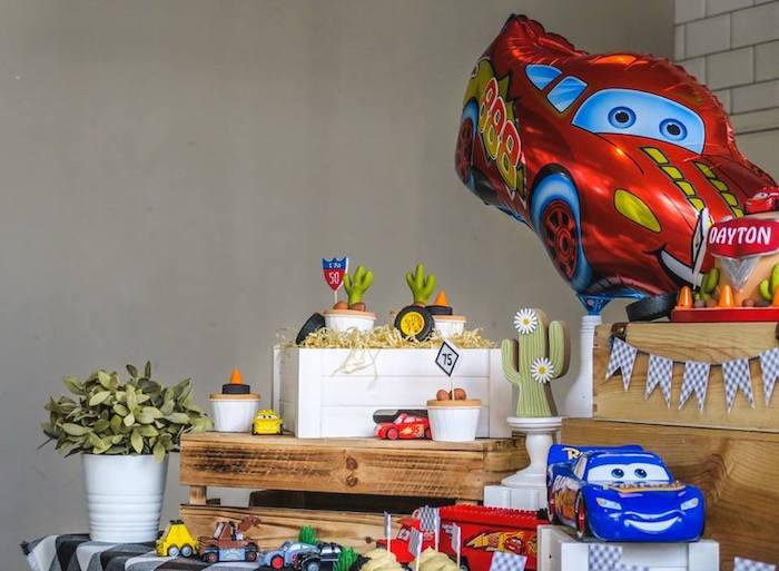 Karas Party Ideas Lightning McQueen Cars Birthday Party Karas
