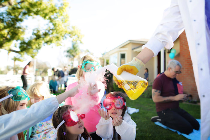 Mad Science Birthday Party on Kara's Party Ideas | KarasPartyIdeas.com (13)