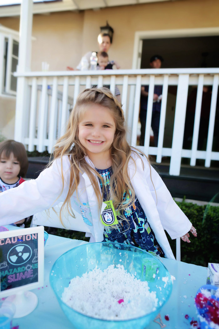 Mad Science Birthday Party on Kara's Party Ideas | KarasPartyIdeas.com (10)