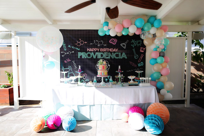 Mad Science Birthday Party on Kara's Party Ideas | KarasPartyIdeas.com (25)