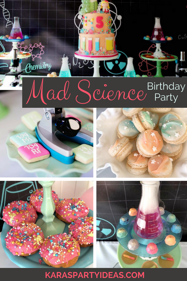 Mad Science Birthday Party via KarasPartyIdeas - KarasPartyIdeas.com