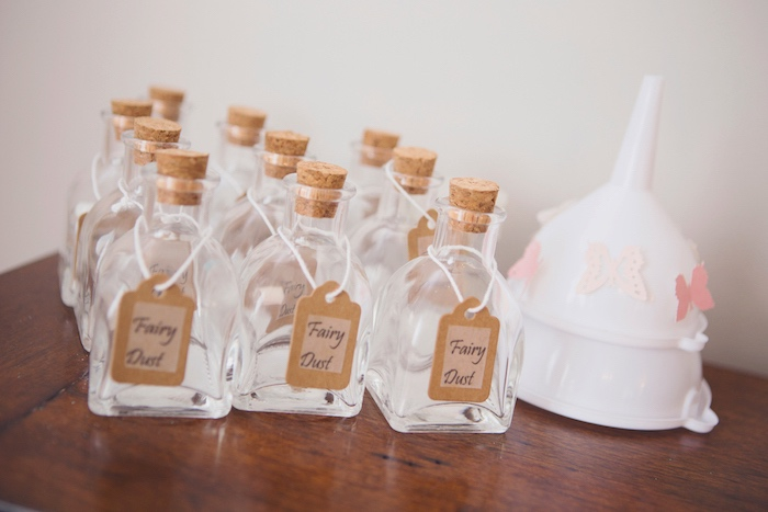 Fairy Dust Favor Bottles from a Magical Fairy Birthday Party on Kara's Party Ideas | KarasPartyIdeas.com (18)