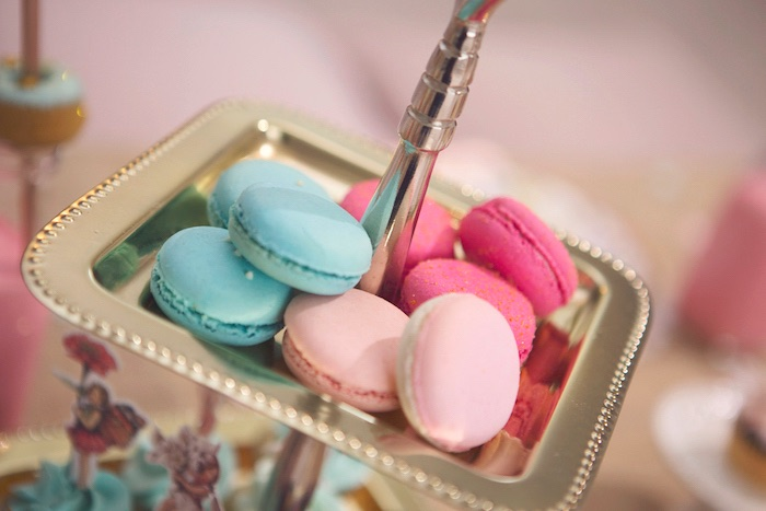 Macarons from a Magical Fairy Birthday Party on Kara's Party Ideas | KarasPartyIdeas.com (9)