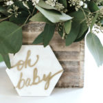 Marbled Modern Woodland Baby Shower on Kara's Party Ideas | KarasPartyIdeas.com (1)
