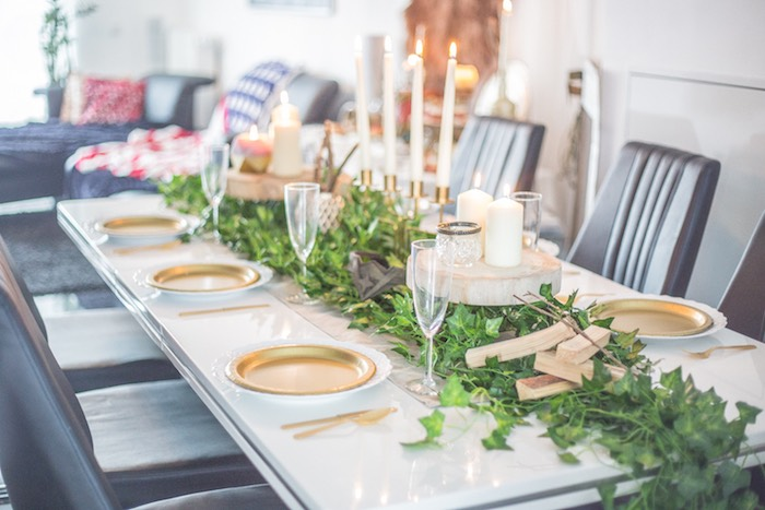 Guest Table from a Medieval Wonder Woman Inspired Party on Kara's Party Ideas | KarasPartyIdeas.com (12)