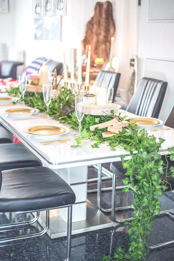 Guest Table from a Medieval Wonder Woman Inspired Party on Kara's Party Ideas | KarasPartyIdeas.com (10)