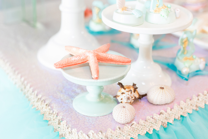 Decor from a Mermaid Under the Sea Birthday Party on Kara's Party Ideas | KarasPartyIdeas.com (6)
