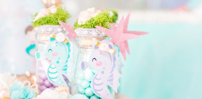 Mermaid Under the Sea Birthday Party on Kara's Party Ideas | KarasPartyIdeas.com (3)