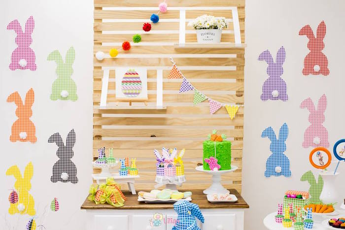 Modern Colorful Easter Party on Kara's Party Ideas | KarasPartyIdeas.com (17)