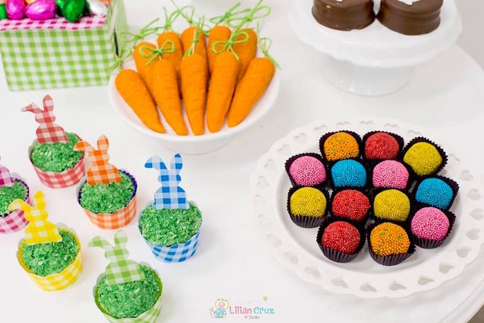 Easter Desserts from a Modern Colorful Easter Party on Kara's Party Ideas | KarasPartyIdeas.com (26)