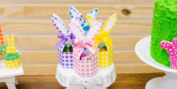 Modern Colorful Easter Party on Kara's Party Ideas | KarasPartyIdeas.com (3)