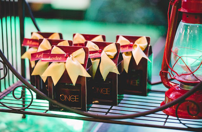 "Once-Upon-A-Time-Candle-Favors from ABC's ""Once Upon a Time"" Inspired Birthday Party on Kara's Party Ideas 