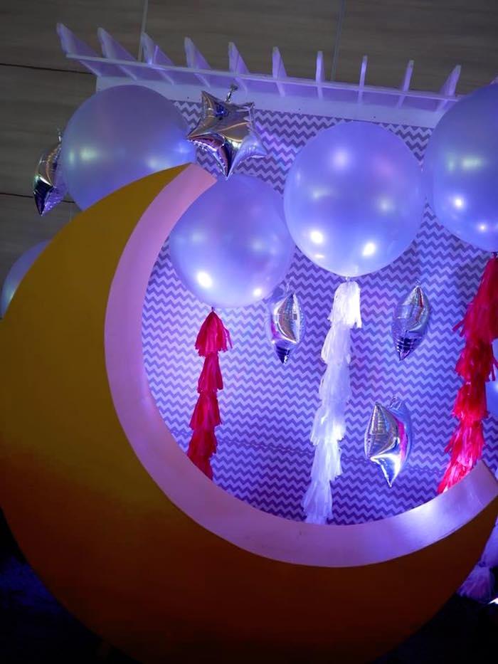 Kara S Party Ideas Outer Space Rocket Ship Birthday Party