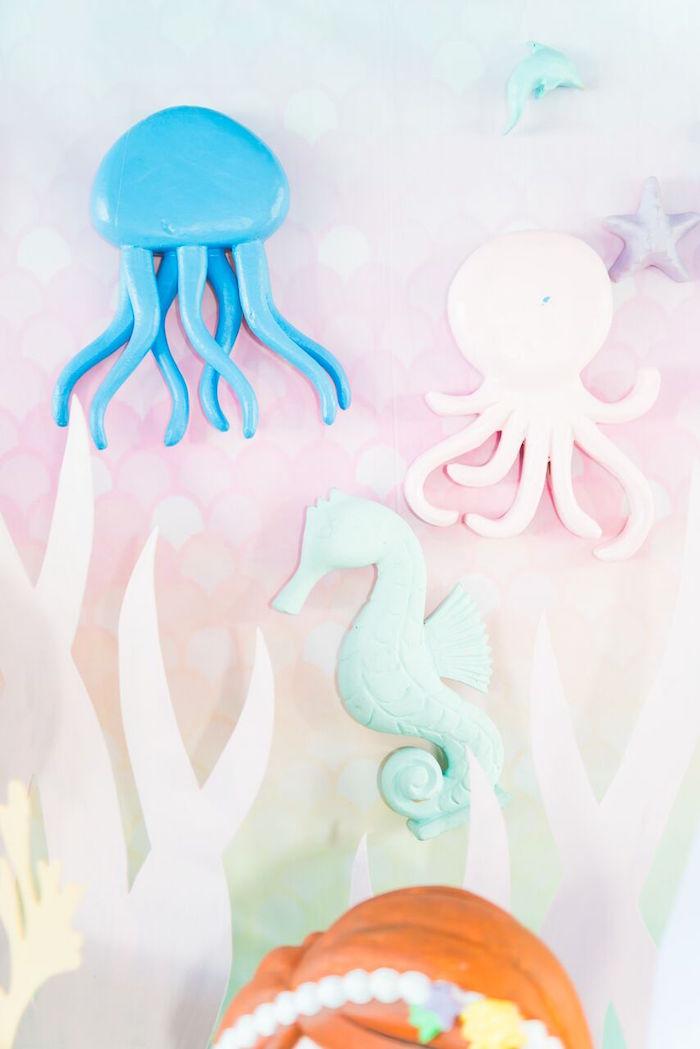 Pastel Under the Sea Party on Kara's Party Ideas | KarasPartyIdeas.com (25)