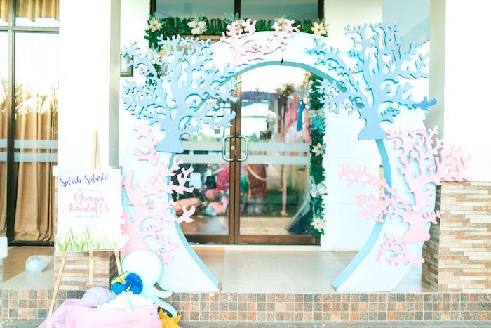Pastel Under the Sea Party on Kara's Party Ideas | KarasPartyIdeas.com (6)