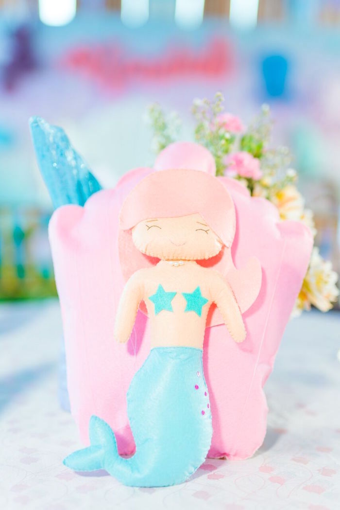 Pastel Under the Sea Party on Kara's Party Ideas | KarasPartyIdeas.com (22)