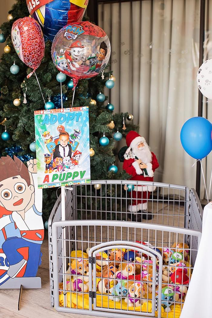 Crate from a Paw Patrol Inspired Puppy Party on Kara's Party Ideas | KarasPartyIdeas.com (21)