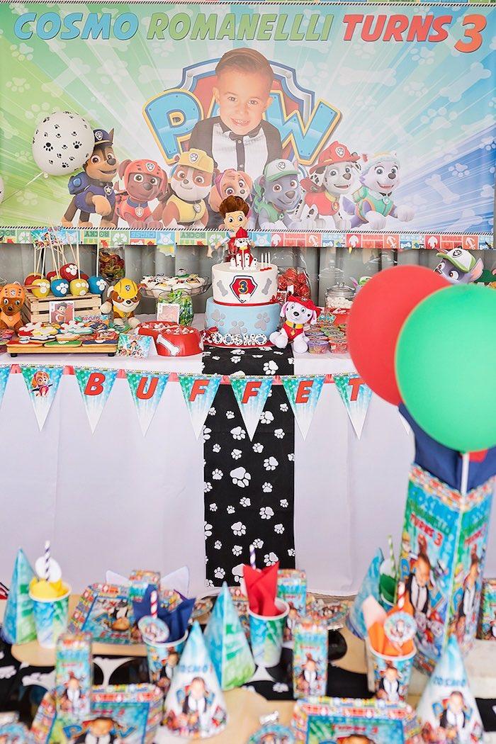 Paw Patrol Inspired Puppy Party on Kara's Party Ideas   KarasPartyIdeas.com (13)