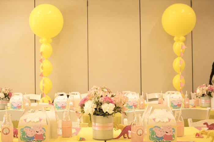 Peppa Pig Birthday Party on Kara's Party Ideas | KarasPartyIdeas.com (10)