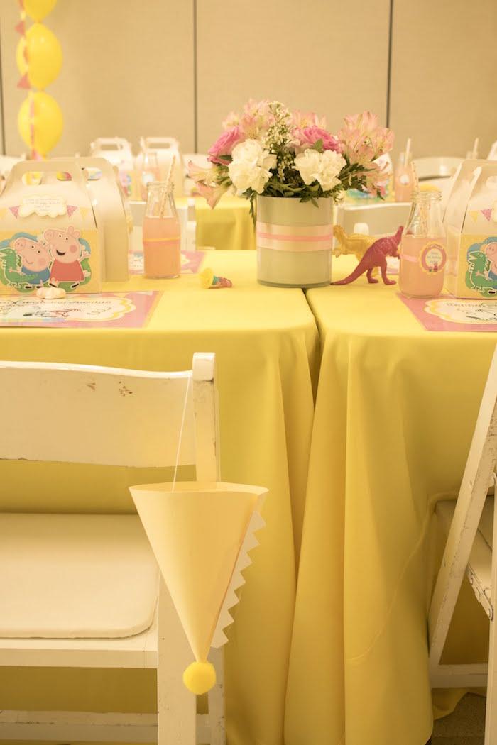 Peppa Pig Birthday Party on Kara's Party Ideas | KarasPartyIdeas.com (9)
