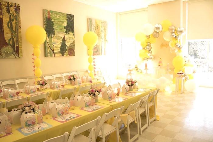 Peppa Pig Birthday Party on Kara's Party Ideas | KarasPartyIdeas.com (5)