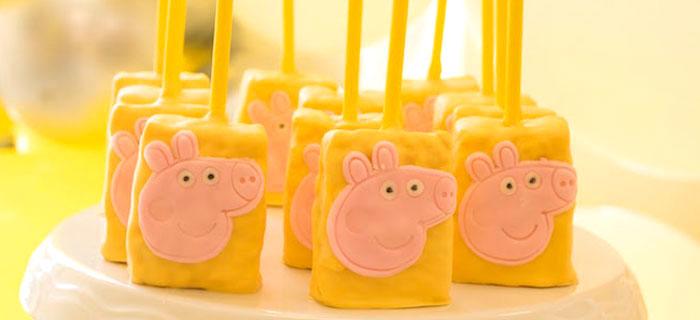 Peppa Pig Birthday Party on Kara's Party Ideas | KarasPartyIdeas.com (1)