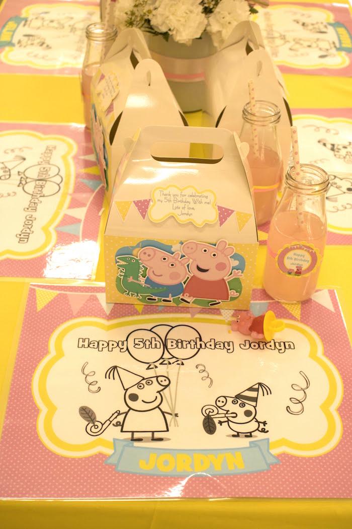 Peppa Pig Birthday Party on Kara's Party Ideas | KarasPartyIdeas.com (14)
