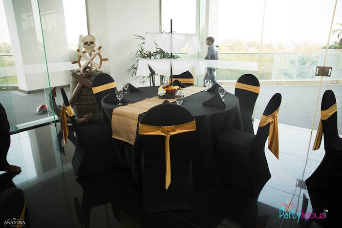Adult Tables from a Pirates of the Caribbean Inspired Birthday Party on Kara's Party Ideas | KarasPartyIdeas.com (31)