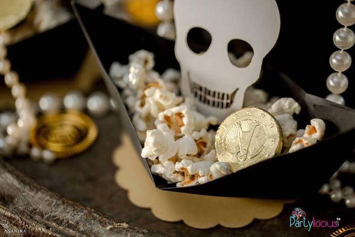 Pirate Popcorn from a Pirates of the Caribbean Inspired Birthday Party on Kara's Party Ideas | KarasPartyIdeas.com (22)
