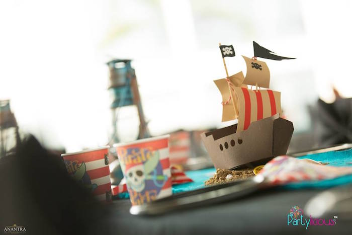 Pirates of the Caribbean Inspired Birthday Party on Kara's Party Ideas   KarasPartyIdeas.com (16)