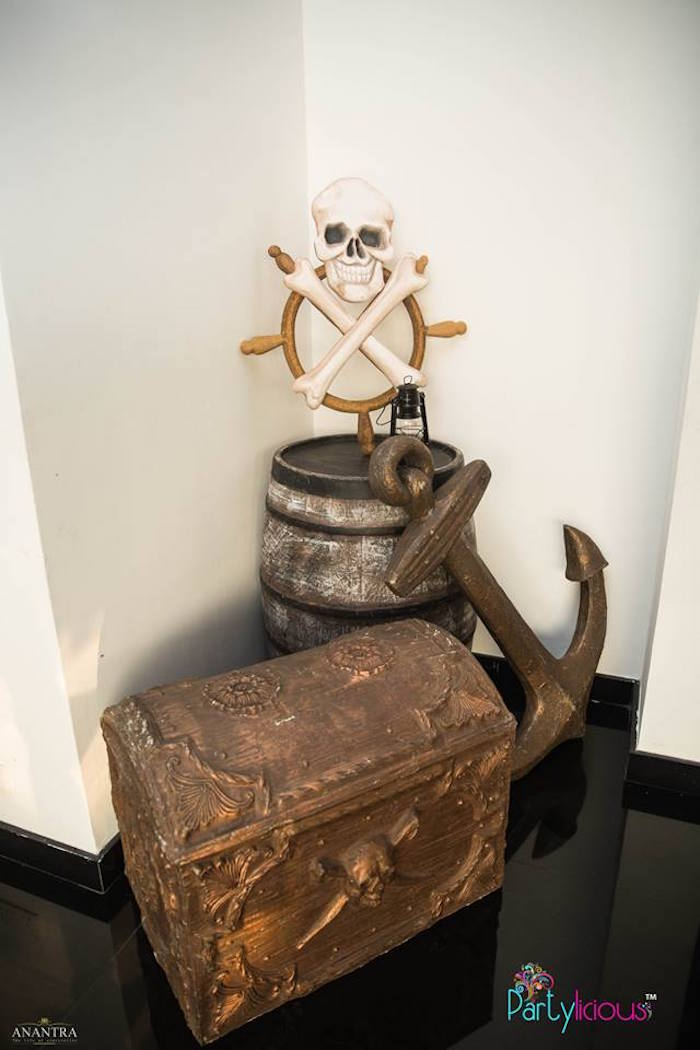 Pirate Decor from a Pirates of the Caribbean Inspired Birthday Party on Kara's Party Ideas | KarasPartyIdeas.com (14)