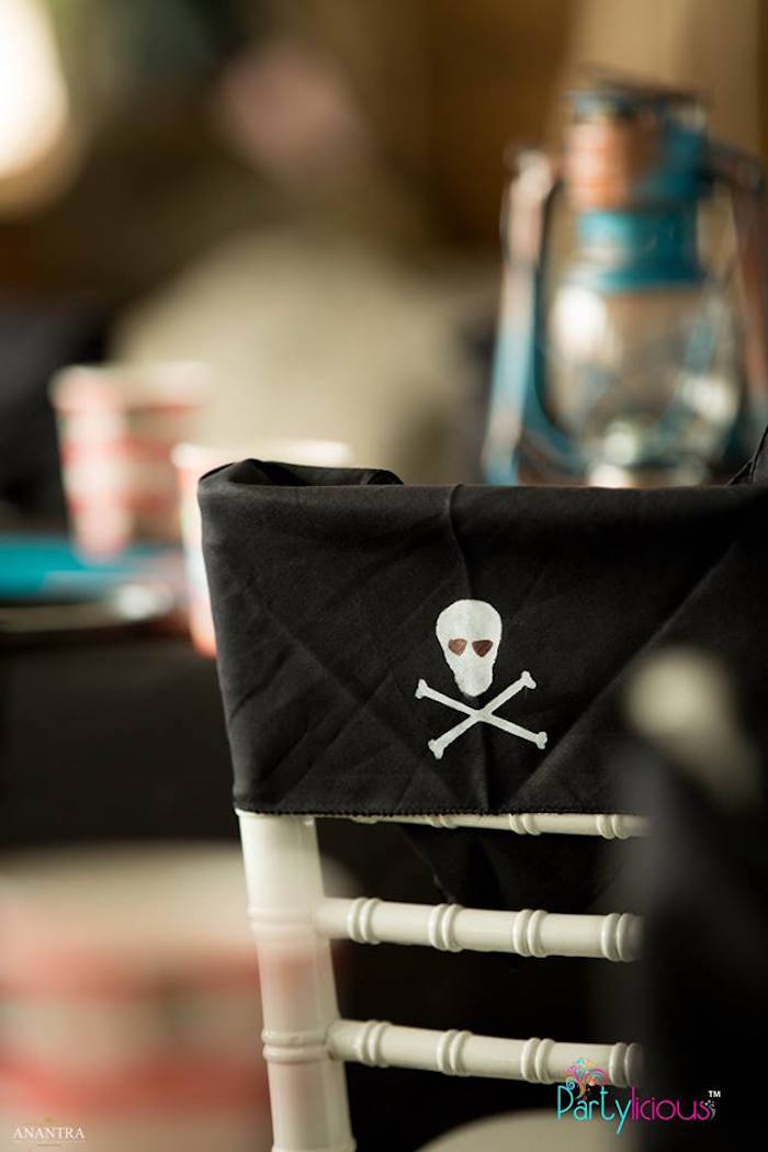 Pirate Chair Back from a Pirates of the Caribbean Inspired Birthday Party on Kara's Party Ideas | KarasPartyIdeas.com (13)