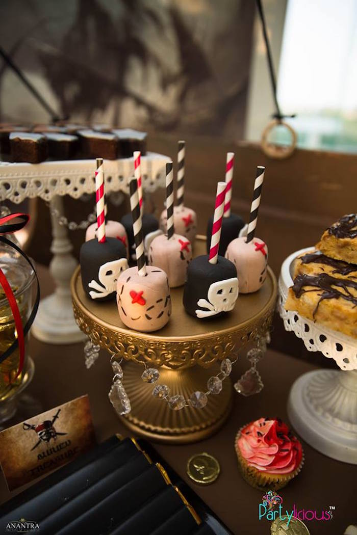 Pirate Pops from a Pirates of the Caribbean Inspired Birthday Party on Kara's Party Ideas | KarasPartyIdeas.com (11)