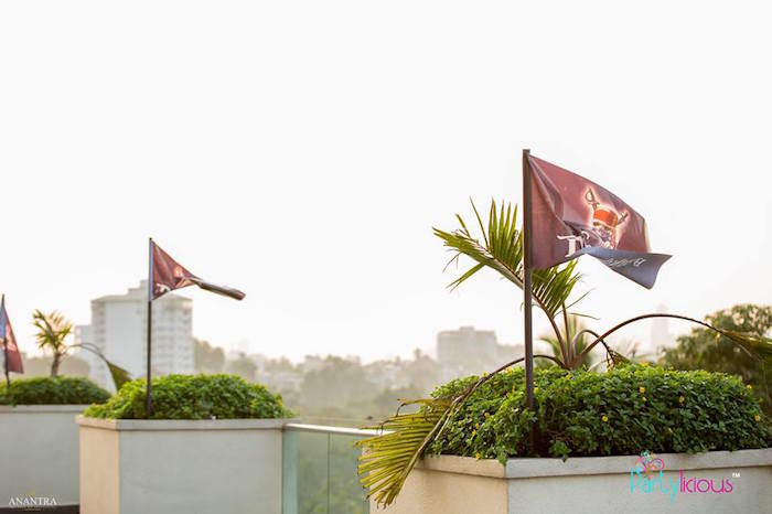 Flags from a Pirates of the Caribbean Inspired Birthday Party on Kara's Party Ideas   KarasPartyIdeas.com (10)