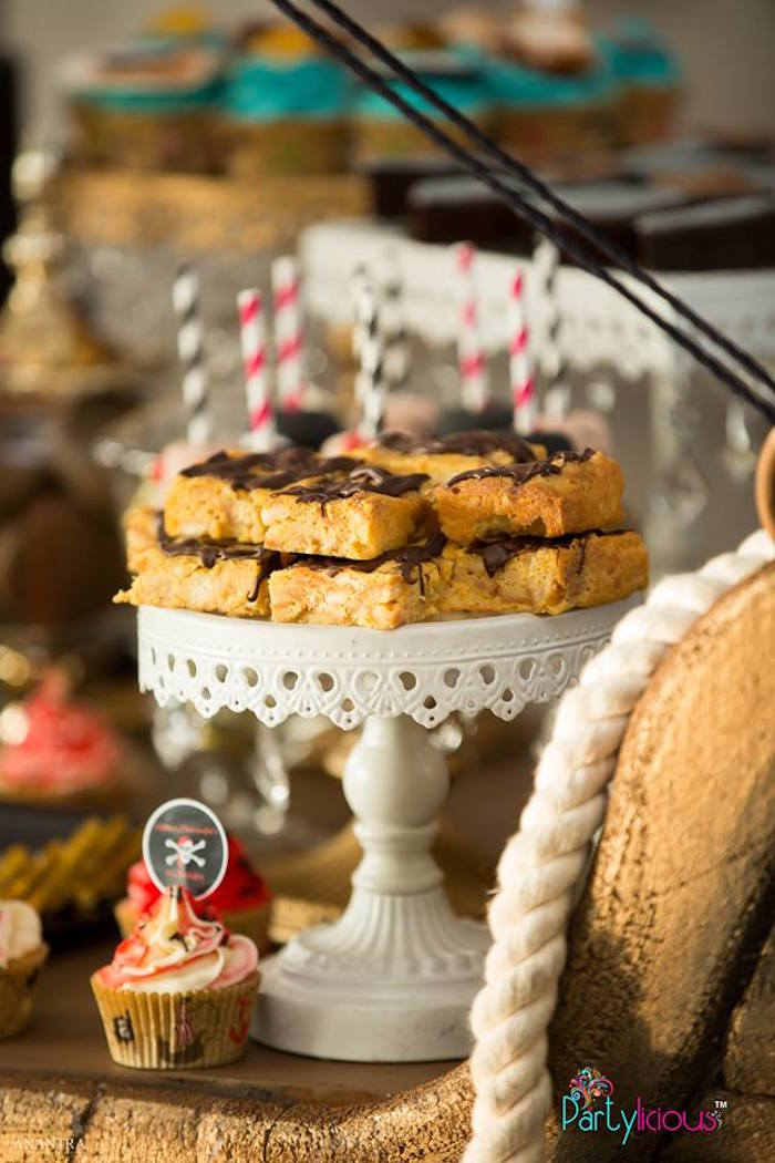 Sweets from a Pirates of the Caribbean Inspired Birthday Party on Kara's Party Ideas | KarasPartyIdeas.com (8)