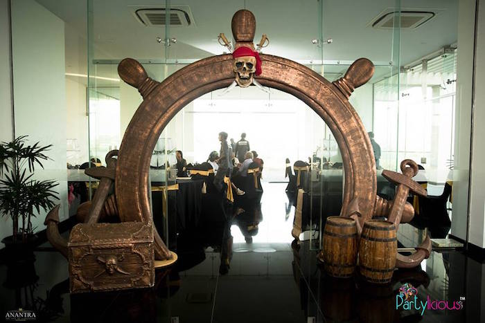 Caribbean Party Tips Theme Parties N More: Kara's Party Ideas Pirates Of The Caribbean Inspired