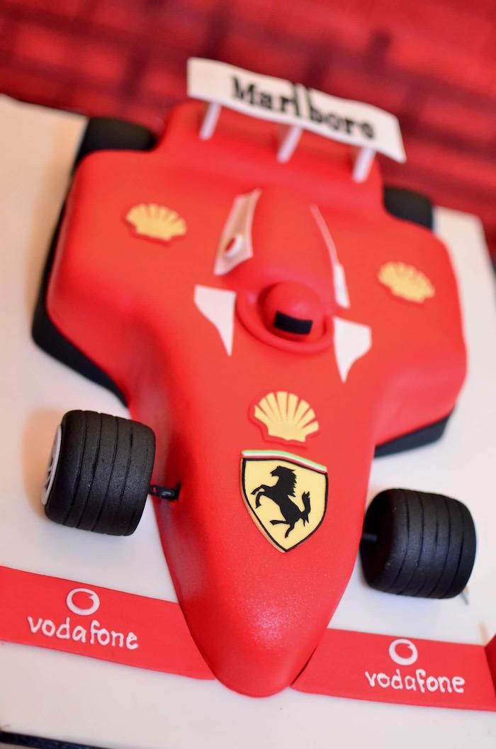 Red Race Car Birthday Party on Kara's Party Ideas | KarasPartyIdeas.com (9)