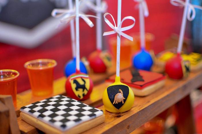 Red Race Car Birthday Party on Kara's Party Ideas | KarasPartyIdeas.com (8)