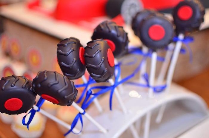 Red Race Car Birthday Party on Kara's Party Ideas | KarasPartyIdeas.com (7)