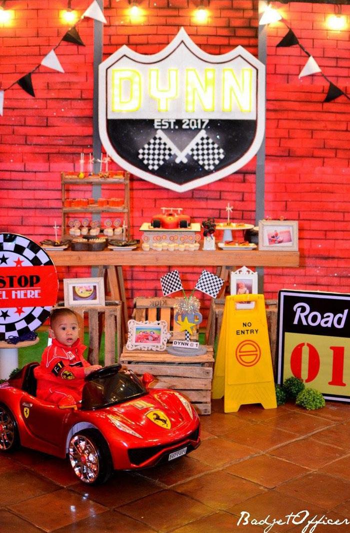 Red Race Car Birthday Party on Kara's Party Ideas | KarasPartyIdeas.com (6)