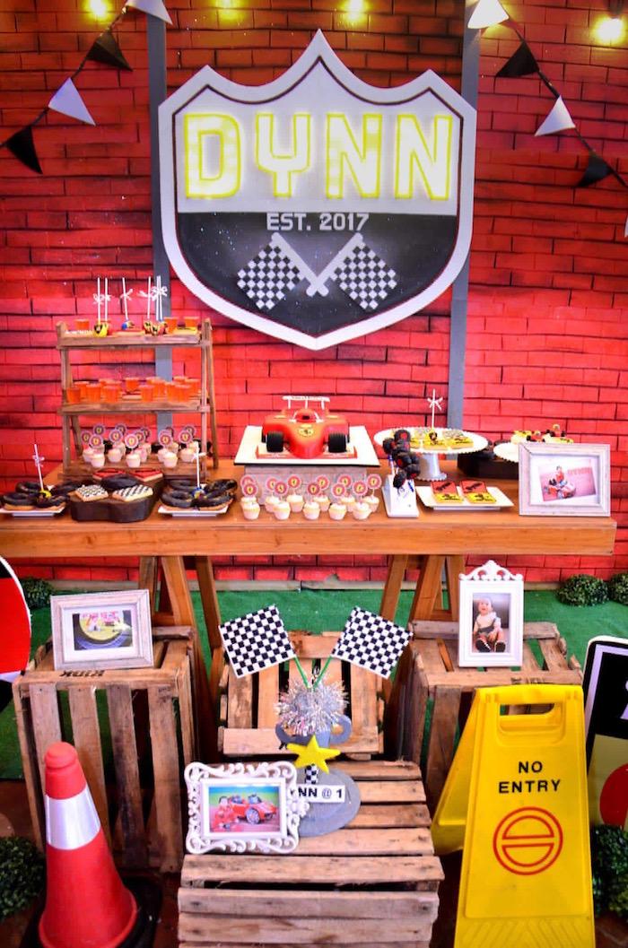 Red Race Car Birthday Party on Kara's Party Ideas | KarasPartyIdeas.com (23)