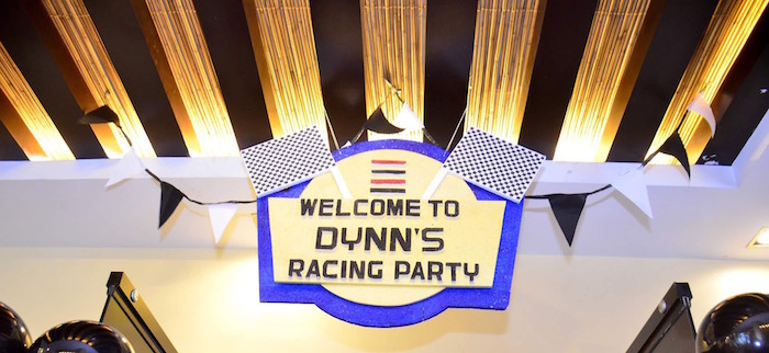 Signage from a Red Race Car Birthday Party on Kara's Party Ideas | KarasPartyIdeas.com (21)