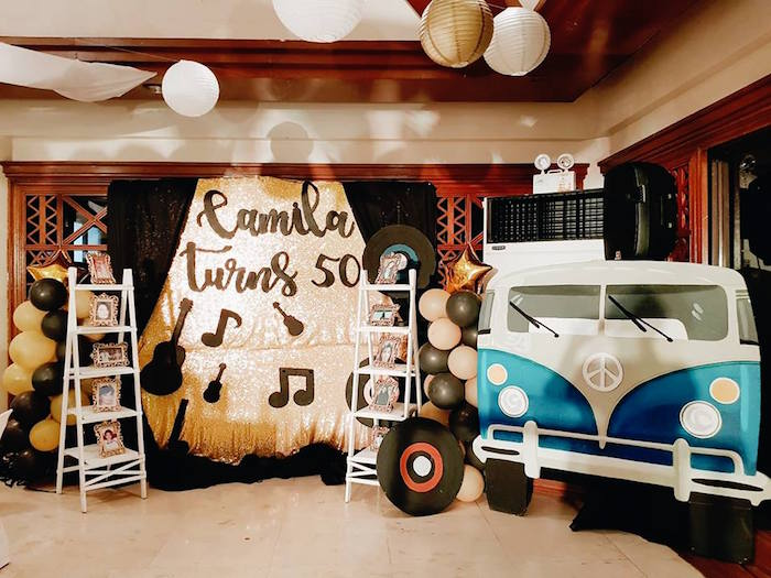 Retro 50's Music Birthday Party on Kara's Party Ideas | KarasPartyIdeas.com (4)