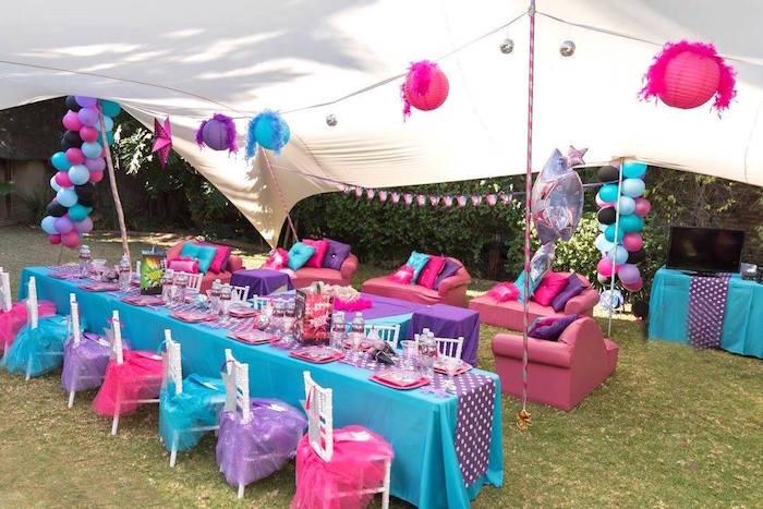 Rock Star Birthday Party on Kara's Party Ideas | KarasPartyIdeas.com (9)