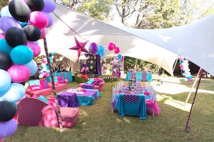 Rock Star Birthday Party on Kara's Party Ideas | KarasPartyIdeas.com (8)
