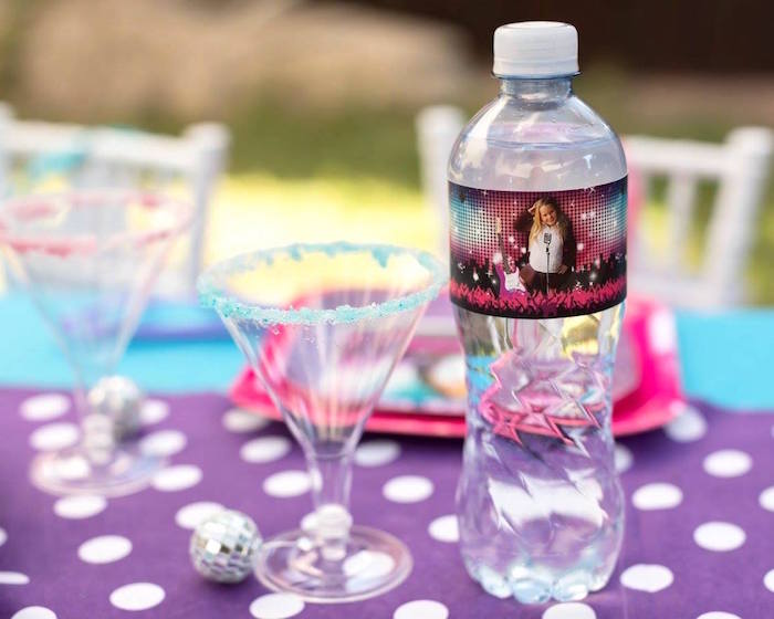 Drinks from a Rock Star Birthday Party on Kara's Party Ideas | KarasPartyIdeas.com (6)