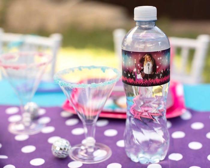 Drinks from a Rock Star Birthday Party on Kara's Party Ideas | KarasPartyIdeas.com (6)